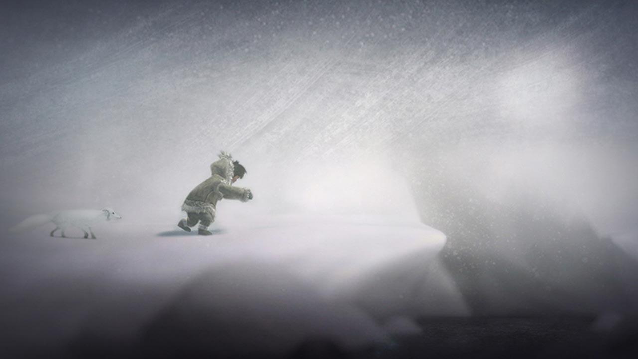 eskimo frau als gastgeschenk