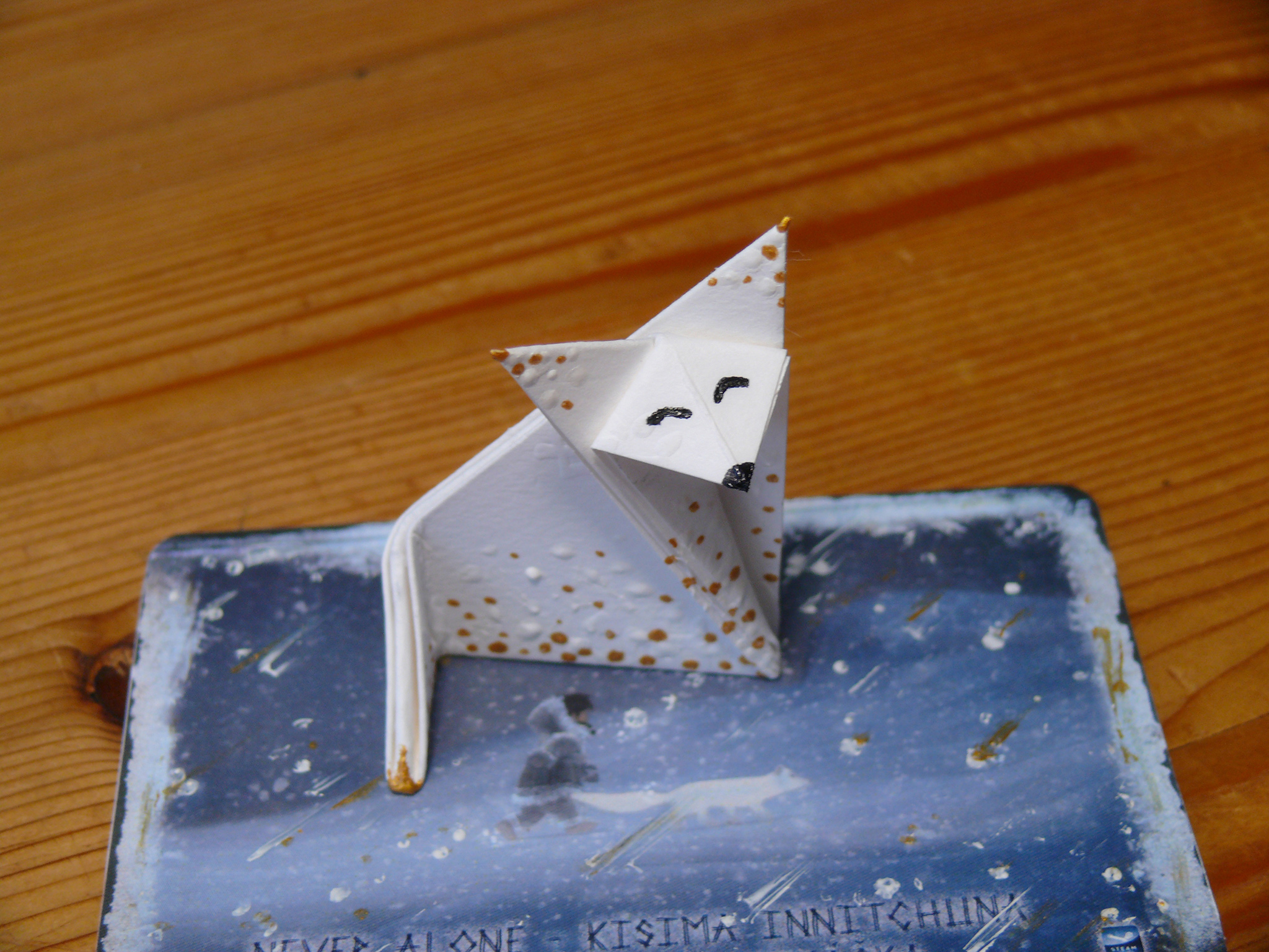Make an adorable origami fox in only 8 steps! Quick and easy! | Origami  step by step, Origami fox face, Origami bird | 1536x2048