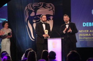 Event: British Academy Games AwardsDate: Thurs 12 March 2015Venue: Tobacco Docks, East LondonHost: Rufus Hound-Area: CEREMONY